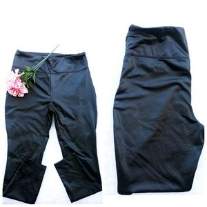 Wild Fable medium black shiney leggings